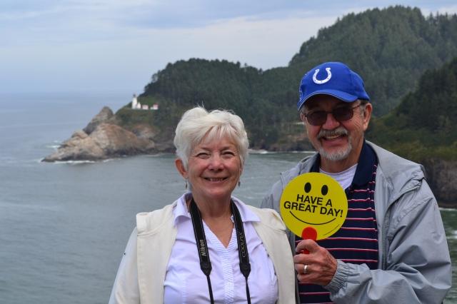 Hecita Head lighthouse - Oregon Coast
