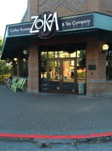 Zuka's tangletown coffee shop
